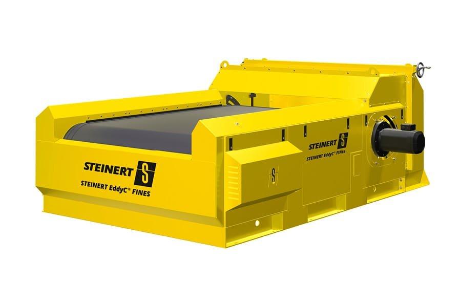 Produktrendering des Steinert EddyC FINES® zur magnetischen Separation.