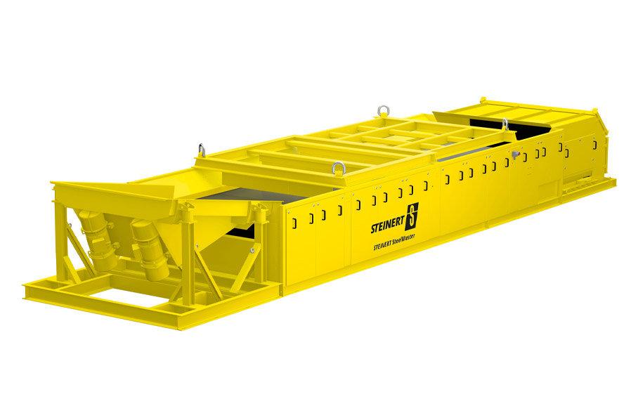 Produktrendering des Steinert SteelMaster zur magnetischen Separation.