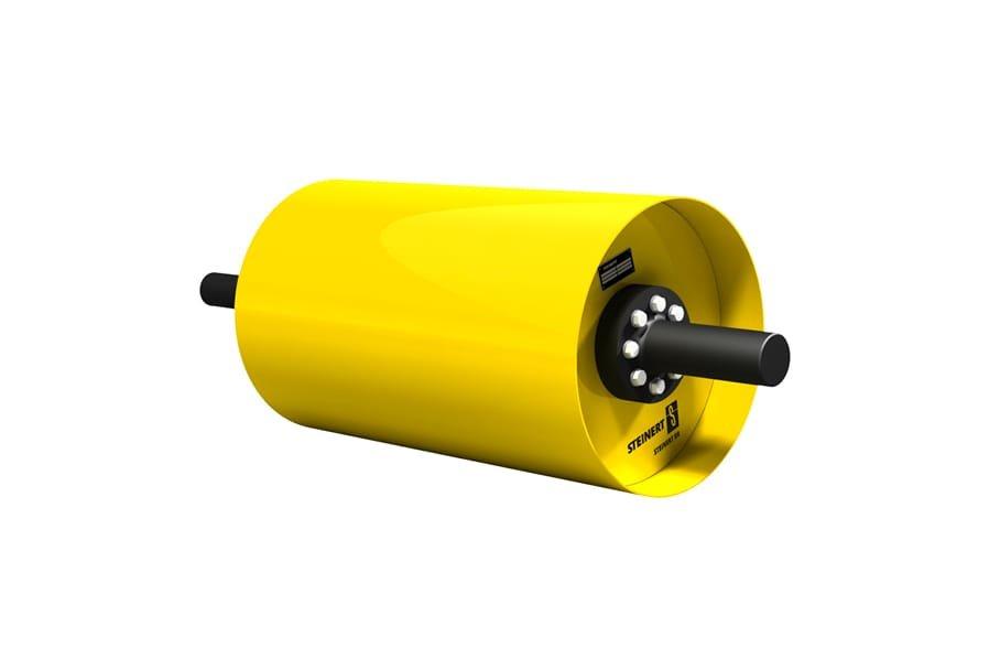 Produktrendering des Steinert BR. Eine Magnettrommel zur magnetischen Separation.