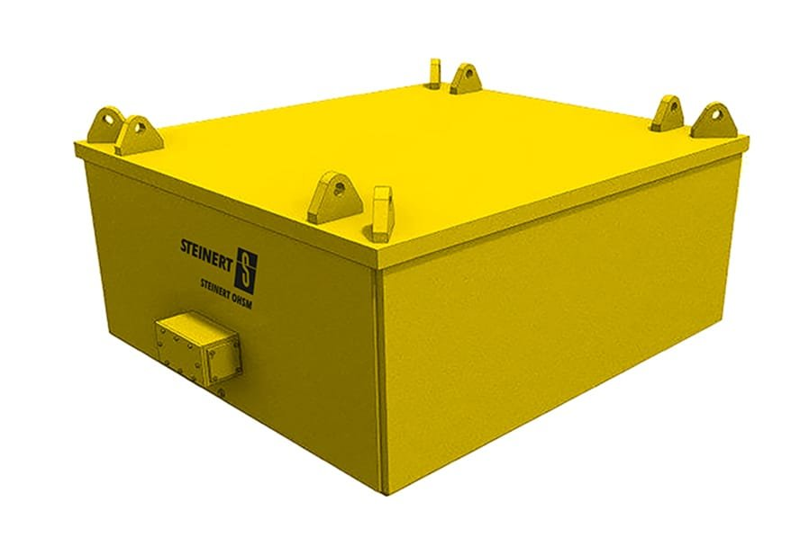 Produktrendering des Steinert OHSM zur magnetischen Separation.
